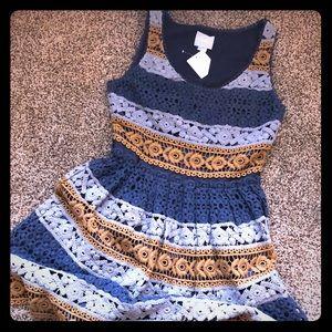 Anthropologie Maeve sz 6 crochet dress NWT